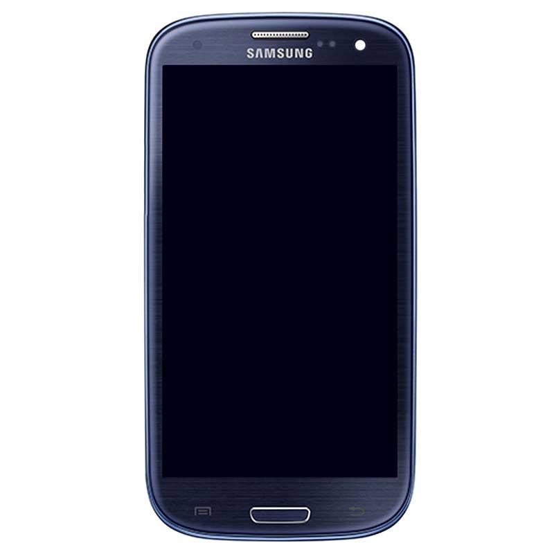 94b61fe085c Carcasa Frontal & Pantalla LCD para Samsung Galaxy S3 Neo I9300I, I9301I -  Azul Metalizado