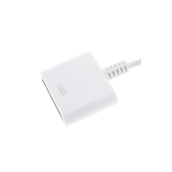 Adaptador & Cable Lightning / 30-pin Compatible - iPhone 6 / 6S, iPad Pro - Blanco