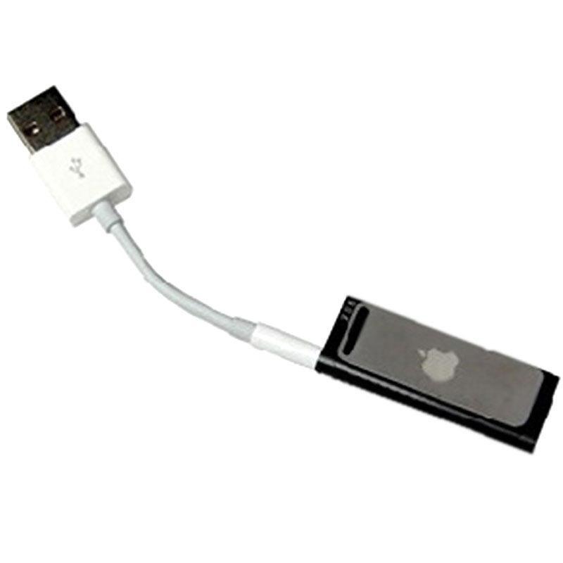 d629d293925 Cable de Datos y Cargador USB para iPod Shuffle 2G, Shuffle 3G, Shuffle 4G