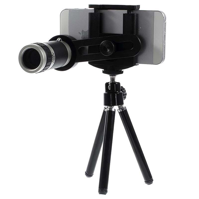 Lente Telescópica Universal con Zoom Óptico de 8x para